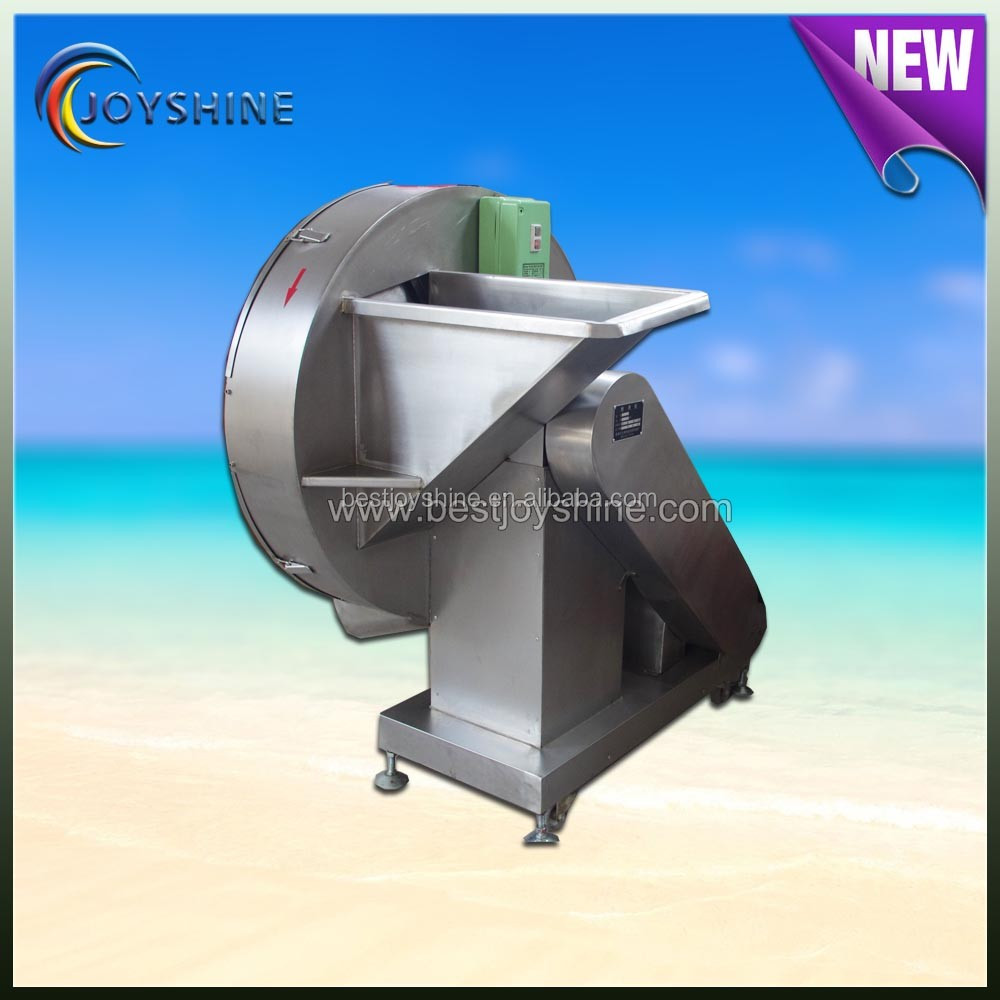 Factory price good after sales service frozen meat slicer/slicing machine