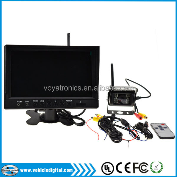 No Interference Waterproof IP68 9 Inch Wifi Surveillance Camera System 1 Monitor and 1 Camera VD-9012WD