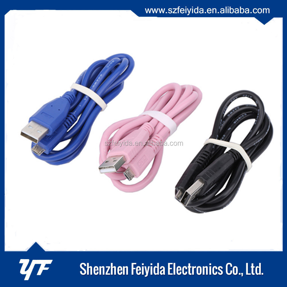Fashionable style cheap usb charging cable for android/samsung/ iphone