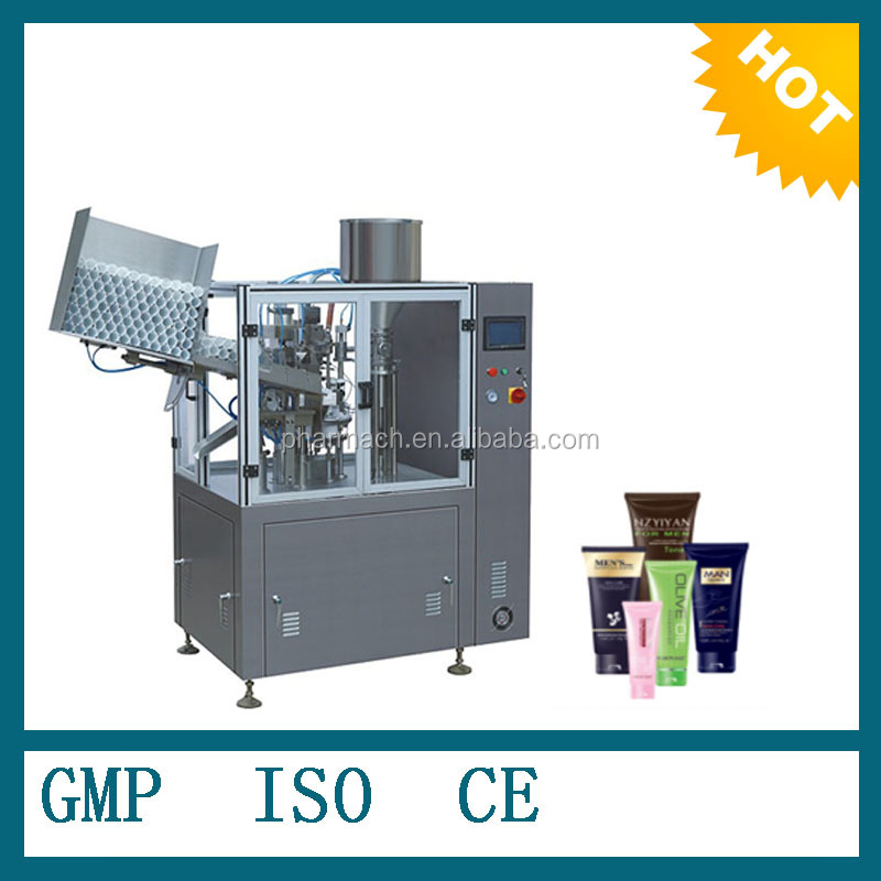 factory price Automatic plastic tube filling and sealing machine for cosmetic and toopaste tube