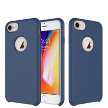 For iPhone 6/6s/7/8 Universal Case, One-piece Sleek Soft Silicone Phone Case for iPhone 6/6s/7/8