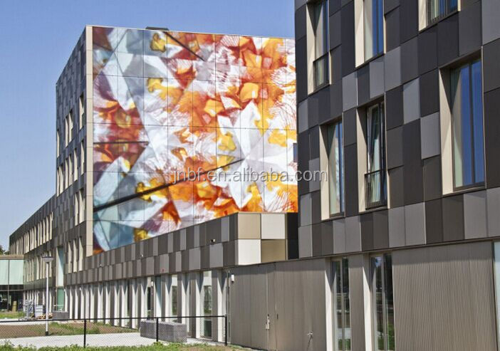 Photocatalyst self cleaning hydrophilia aluminum facade panels for building cladding