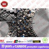 Tungsten carbide saw tips countersink drill bit, cone drill bits
