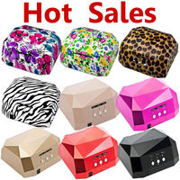 Rainbow color Shape New Arrivals Electric Portable Mini LED UV Nail Lamp Dryer ccfl nail led uv lamp