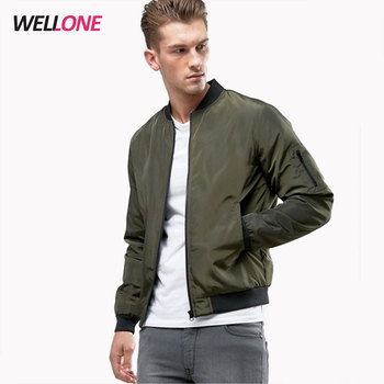 China factory high quality oem design plain nylon MA1 flight men silk screen printing logo khaki green custom bomber jacket
