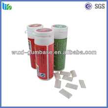Hot selling Caffeine Energy Sugarfree Chewing Gum plastic pellets