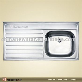 Stainless Sink With Splashboard Buy Stainless Sink Kitchen Basin Kitchen Sink Product On