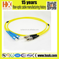 Duplex FC fiber optic patch cord with 2mm