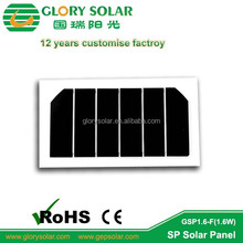 China Factory Offering Custom Design SP Small PET Solar Panel