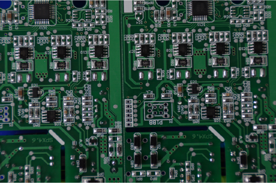 printed circuit board in professional service for electronics
