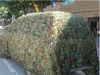 camouflage net for military use and sun shade net,sun tent for cars sun shade netting,army equipment