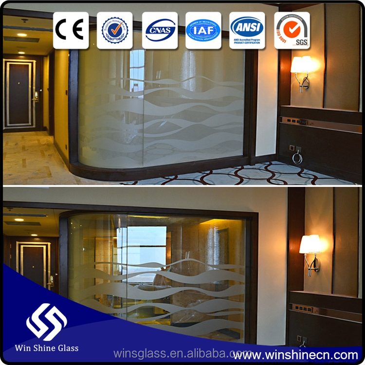 2016 China Customized Outdoor Glass Room/Smart Glass