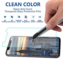 premium manufacture wholesale 9h hardness tempered glass screen protector for iphone x
