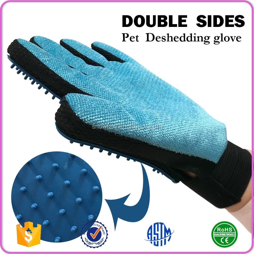 Pet Deshedding Furniture Hair Removal Brush For Left And Right Hands