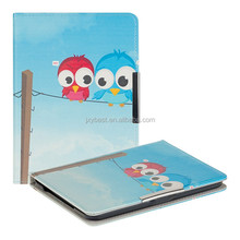 Leather Case factory custom Cute Printing leather flip smart cover case for Tolino Vision 1 2 3 HD