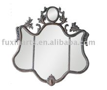 mirror metal wall decoration for home decor FX08273
