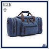 plain cotton canvas durable big capacity travel portable duffel bags for outdoor