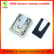OEM Customize money clip leather,PU PVC ,parts money clip