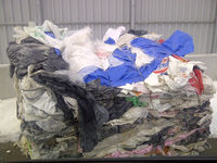 LDPE film coming from C&D waste streams