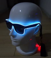 Wonderful beautiful top-quality Ray-Ban colorful EL wire EL Sunglasses