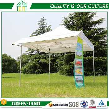 Commercial Plastic Tent / Personal Custom Folding A Gazebo Pop Up Tent Marquee 10X10