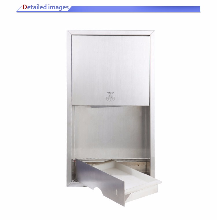 Insert-wall 304 Stainless steel hand dryer Mini Combination Sideboard