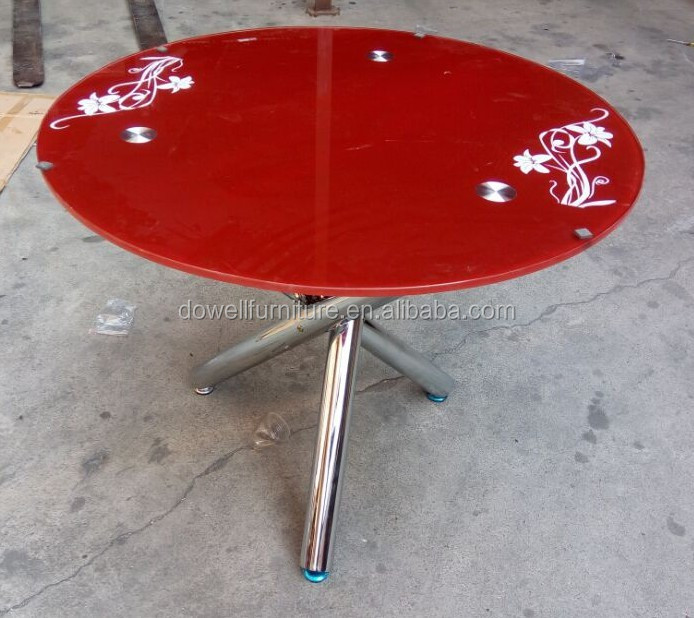 bedroom glass coffee table round tea table outdoor tea table furniture factory