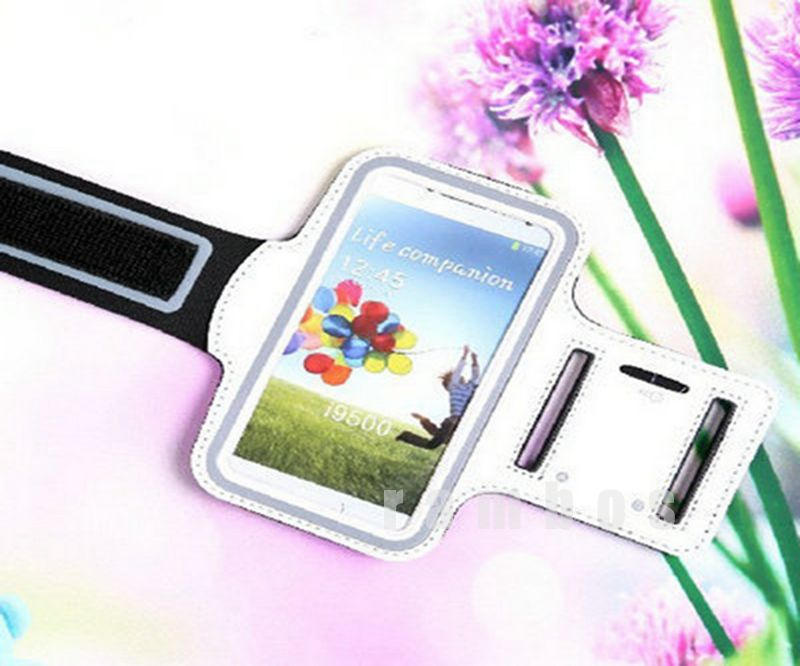 Gym Band Exercise Arm Belt Sports Armband Mobile Phone Case Cover for Samsung Galaxy S4 i9500