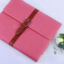 new protective handbag folded cover for ipad4 leather case