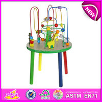 Preschool educational toys wooden toy children learning machine,wholesale educational toy for children W11B007