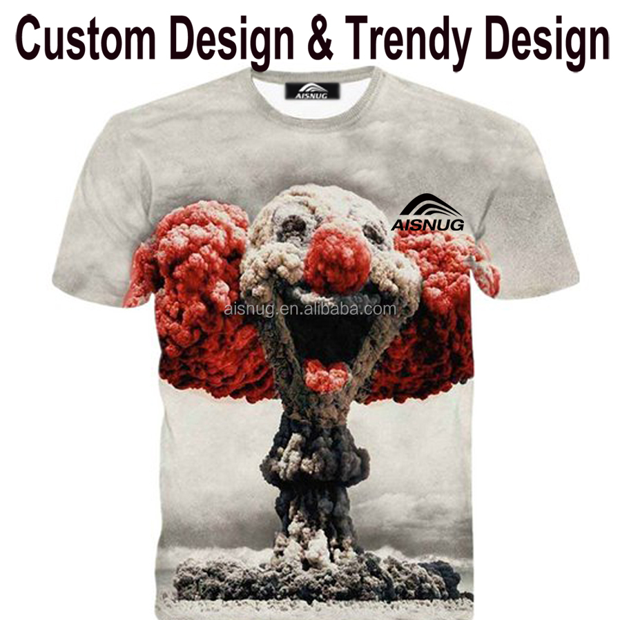 2015 High Quality Sublimation T Shirts UK Style Like Men's T-shirts Wholesale By China Factory
