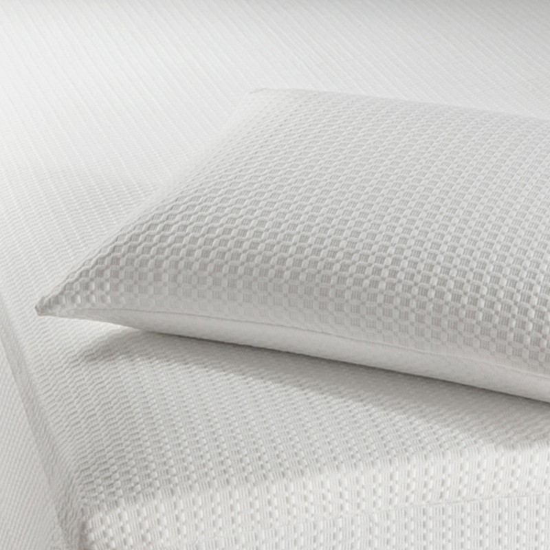 Gel Infused Talalay Latex Pillow with Support Zones for Head and Neck