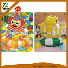 cartoon indoor play park for kid play