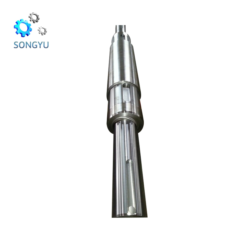 Hot sale open die forging forged steel shaft propeller for cargo vessel