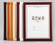 hot selling A4,A5,A3 Wooden certificate photo frame