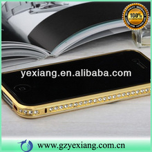 High Quality Aluminum Metal Phone Cover For Iphone 5 Bling Bumper Case