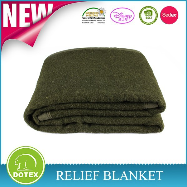 High quality cheap emergency disaster relief blanket 100%RPET material relief blankets