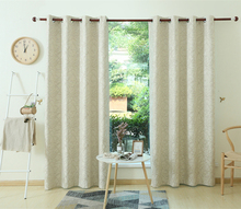 Shaoxing home textile ALLBRIGHT fashionable living room blackout window curtain decor