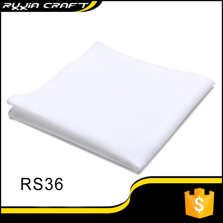 plain white cotton handkerchiefs