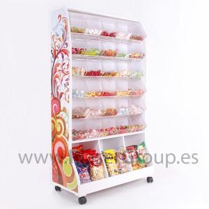 cabinet pr sentoir avec bacs de bonbons image support d 39 affichage id de produit 600001133026. Black Bedroom Furniture Sets. Home Design Ideas