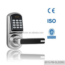 card key lock magnetic digital keypad home door lock