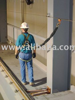 Horizontal Lifeline Systems - Steel Rope System With Integrated Fall Protection