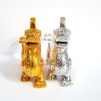 Customuzed Gifts Kylin Transparent Metal Crafts