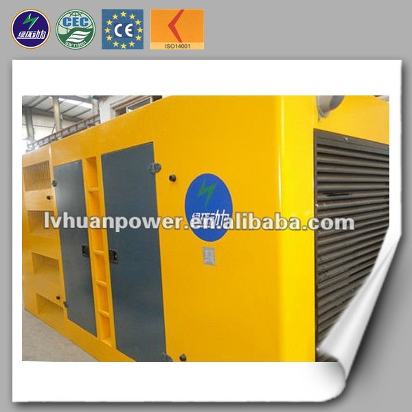 cogeneration natural gas/cng generator soundproof container