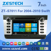 car gps dvd player for SUZUKI SWIFT 2004-2010 car gps navigator with radio bluetooth car gps navigation system