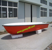 China supplier 6.5M large fishingboat fiberglass fishing kayak boat for sale(M-035)