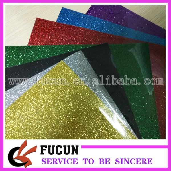 10inch 7 colors Glitter Heat Transfer Vinyl sheet .jpg