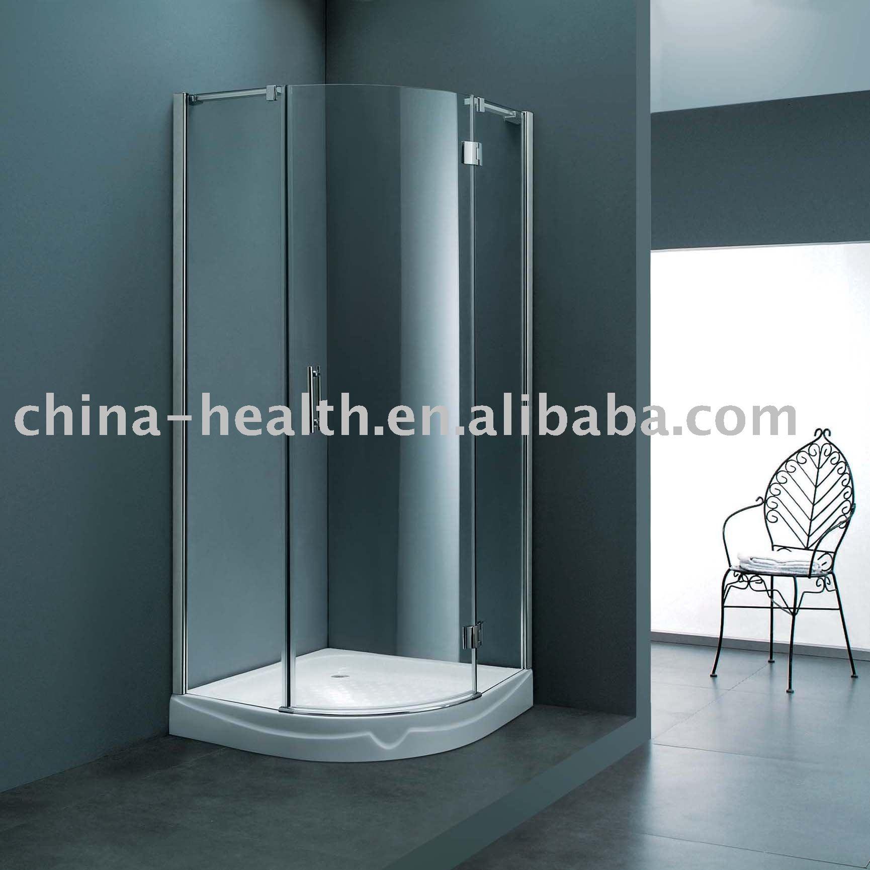 Porta de vidro do banheiro casa de banho Boxes de chuveiro ID do  #4A626A 1730 1730