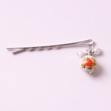 2017 fashion silver plated decorative hair accessories bobby bun pin
