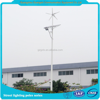 Steel street lighting poles / China supplier